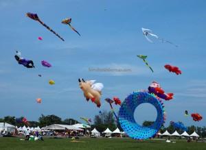 Borneo, International, antarabangsa, backpackers, championship, Dual Line Stunt Kites, sport kite, event, Old Bintulu Airport, outdoors, Tourism, tourist attraction, travel guide, 婆罗洲国际风筝节, 民都鲁沙捞越