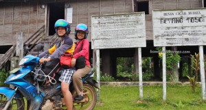 adventure, motorbike ride, authentic, indigenous, Borneo, 中加里曼丹, Desa Tumbang Malahoi, Gunung Mas, Rungan, Rumah Betang Toyoi, culture, Dayak Ngaju, homestay, tourist attraction, tribe, village