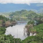 rural mini library, boat ride, authentic, indigenous. Bengoh dam, Borneo, Kampung Ayun. Padawan, Kuching, charity, volunteer, native, dayak bidayuh, tribe, 沙捞越,