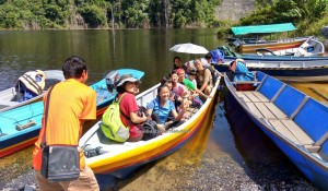 Rural village, Mini library, Boat ride, authentic, Indigenous, native, Dayak Bidayuh, tribe, Borneo, 沙捞越, Non Government Organization, seva, volunteer, charity, Community Service,