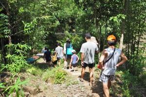Gono Cascade, adventure, nature, outdoor, boat ride, Kampung Ayun, Padawan, Kuching, Malaysia, education, community Service, dayak bidayuh, tribe, Non Government Organization, tribal,