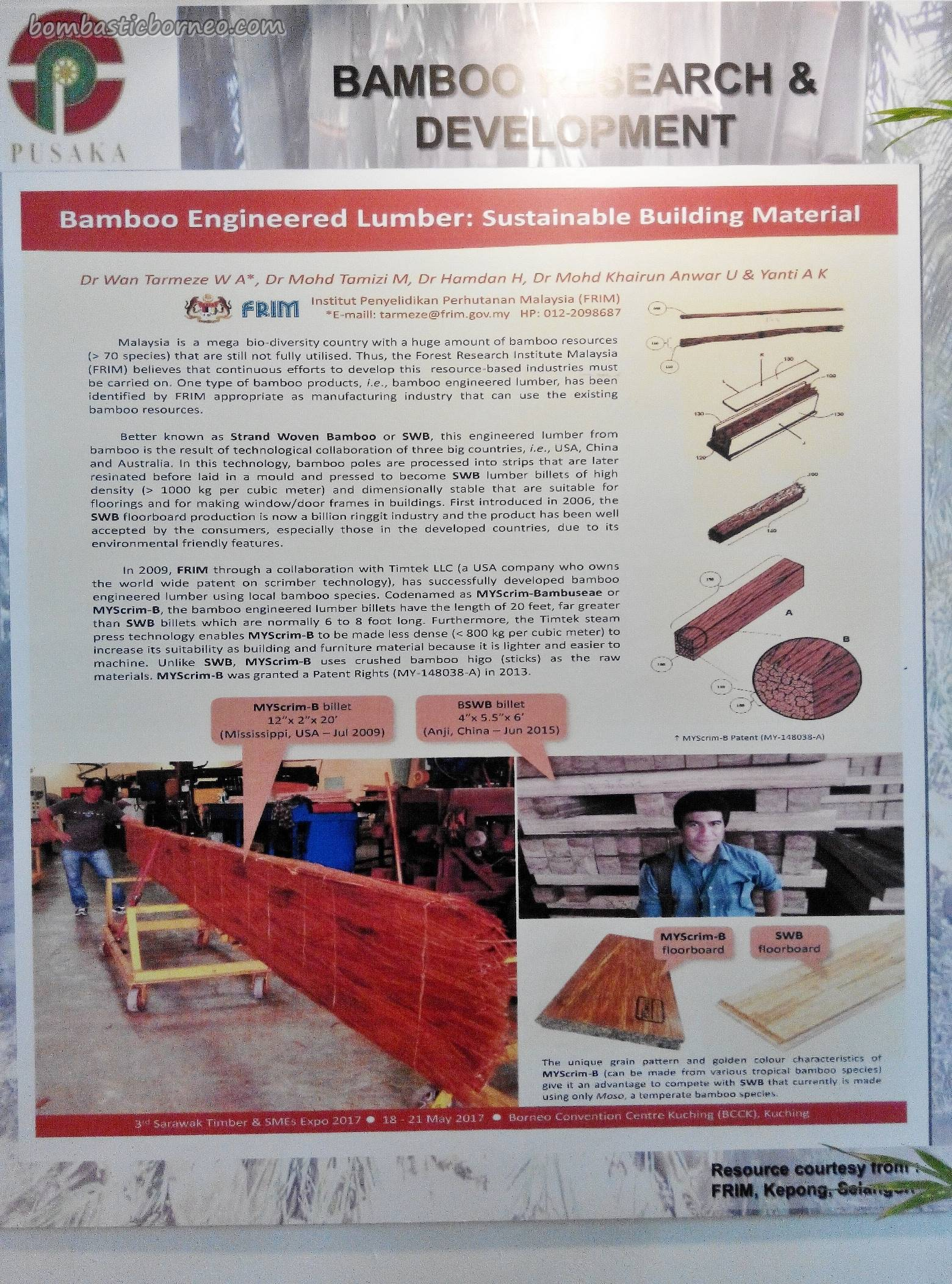 Sarawak Timber SMEs Expo, Borneo Convention Centre Kuching