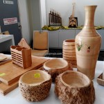 wood, bamboo musical instruments, Borneo Convention Centre Kuching, trade, consumer fair, event, exhibition, Indonesia, Malaysia, Small & Medium Entrepreneurs, 沙捞越展览会, furniture, bamboo essential,