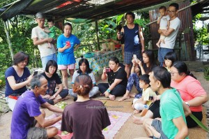 rural mini library, exotic food, delicacy, pitcher plant dumpling rice, sticky rice, Kampung Sapit, Padawan, Kuching, Malaysia, volunteer, Community Service, native, dayak bidayuh, tribe, Non Government Organization,