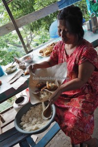 nasi lemak, local food, tourism, waterfront, promenades, chinese temple, beach, Pantai Gedambaan, island, travel guide, village, 南加里曼丹, 婆罗州