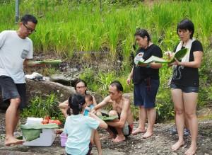 picnic spot, nature, outdoor, authentic, indigenous, Kampung, Kuching, Padawan, Malaysia, charity, volunteer, Community Service, seva, education, Non Profit Organization,