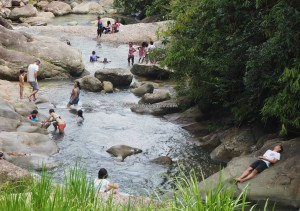 family holiday, picnic spot, adventure, outdoor, Sungai, Highlands, Kampung, Kuching, Padawan, Malaysia, Community Service, native, dayak bidayuh, 沙捞越, tribe,
