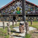 Desa Budaya Sungai Bawang, Balai Adat, authentic, culture, Borneo, Indonesia, East Kalimantan, Kutai Kartanegara, Suku Dayak Kenyah, motifs, sculptures, Tourism, tourist attraction, travel guide, tribal,