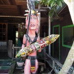 Muara Badak, Desa Budaya Sungai Bawang, indigenous, culture, Borneo, Indonesia, Kalimantan Timur, Kutai Kartanegara, Suku Dayak Kenyah, native, sculptures, Tourism, obyek wisata, traditional, village,