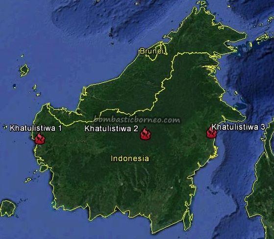 Tugu Khatulistiwa Equator Monument Santan Ulu Indonesia