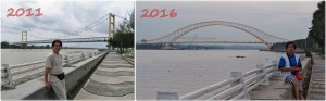 promenade, waterfront, bridge, backpackers, destination, Indonesia, Borneo, Obyek wisata, Tourism, tourist attraction, travel guide, 东加里曼丹, 婆罗州, 旅游景点