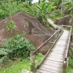 Reservoir, Bau, Kuching, Malaysia, 沙捞越, jungle trekking, dayak bidayuh, native, tribe. traditional, travel guide, Buah Belimbing, wild durian, local fruits,