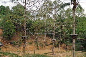 Ladang Budaya, Cultural Center,  Rumah Odah Rehat, Borneo, Kalimantan Timur, Kutai Kartanegara, Mangkurawang, family vacation, mini zoo, nature, tourist attraction, Tourism, 东加里曼丹, 婆罗州, 旅游景点