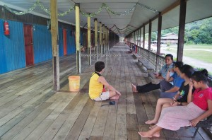 longhouse, village, authentic, traditional, Sungai Asap, Bakun Dam resettlement, Kapit, Borneo, Malaysia, native, tribe, dayak, tourism, travel guide, 婆罗州长屋