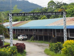 authentic, indigenous, backpackers, destination, Sungai Asap Resettlement, Bakun Dam, Kapit, Borneo, longhouse, rumah panjang, native, tourism, Suku Dayak Kenyah, travel guide, 婆罗州长屋