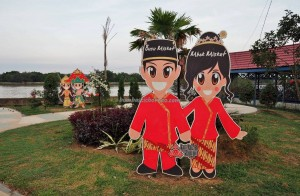 Kumala island, promenade, backpackers, destination, Indonesia, kutai kartanegara, family vacation, holiday, Obyek wisata, tourist attraction, tourism, 东加里曼丹, 婆罗州, 旅游景点