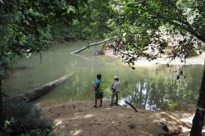 jungle trekking, adventure, nature, air terjun, backpackers, destnation, Long Wat, village, Kapit, Borneo, Belaga, native, tourist attraction, travel guide, 婆罗州旅游景点