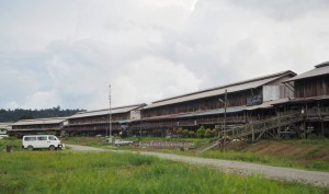 rumah panjang, village, traditional, Bakun Dam resettlement, Belaga, Kapit, Borneo, Malaysia, native, tribe, Dayak Kenyah, Orang Ulu, tourist attraction, travel guide, destination,