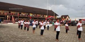 Rumah Radakng, naik dango, Gawai harvest festival, authentic, indigenous, culture, Dayak Kanayatn, native, Borneo, Indonesia, Kalimantan Barat, Kampung Budaya, Landak, Ngabang, Tourism,