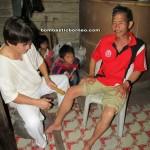 The Magic Bamboo, traditional, charity, volunteer, muscular treatment, muscle detox, medical seva, native, tribe, rural, Kampung, Kuching, Padawan, Malaysia, Non Government Organization,