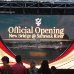opening ceremony, event, Golden Bridge, jambatan, Waterfront, Borneo, Malaysia, Sarawak, Tourism, tourist attraction, travel guide, 古晋, 沙捞越, 步行桥