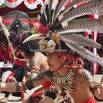 naik dango, Gawai harvest festival, indigenous, event, traditional, culture, native, tribal, tribe, Indonesia, Landak, Rumah Radakng, Obyek wisata, Tourism, 婆罗洲西加里曼丹