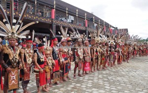 Paddy Harverst Festival, authentic, backpackers, culture, ceremony, Dayak Kanayatn, native, etnis, tribe, Borneo, West Kalimantan, obyek wisata, traditional, travel guide, 原著民丰收节日