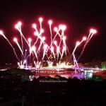 Darul Hana Bridge, jambatan, event, fireworks, Waterfront, Malaysia, Sungai Sarawak, Obyek wisata, Tourism, travel guide, 古晋, 沙捞越, 旅游景点, 步行桥