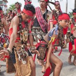 street parade, Gawai Harverst Festival, indigenous, ceremony,, Dayak Kanayatn, Ethnic, native, tribe, Kalimantan Barat, Kampung Budaya, Ngabang, Tourism, traditional, travel guide, 婆罗洲西加里曼丹