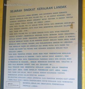 Keraton Ismahayana, palace, antique, authentic, backpackers, Dayak Kanayatn, native, Ethnic, Borneo, Ngabang, Kampung Budaya, traditional, Obyek wisata, Tourism,