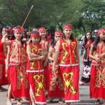 carnaval, Naik Dango, Gawai Padi, Paddy Harverst Festival, indigenous, crossborder, Dayak Kanayatn, Ethnic, tribe, Indonesia, Kampung Budaya, Landak, Ngabang, Tourism, obyek wisata,