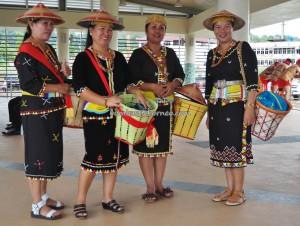 Gawai harvest festival, Irau event, authentic, traditional, culture, Sarawak, Lawas, Limbang, Malaysia, dayak, native, Orang Ulu, tourist attraction, crossborder, backpackers, 老越砂拉越