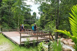 Penawan Waterfalls Ecotourism Park, air terjun, adventure, outdoors, authentic, resort, homestay, accommodation, backpackers, hidden paradise, Borneo, Lawas, Malaysia, traditional, travel guide, 砂拉越旅游景点,