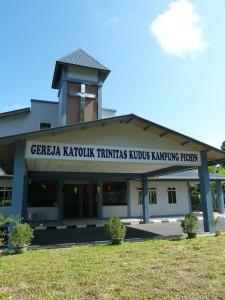 church, gereja, homestay, native, 沙捞越, Serian, Kuching, Malaysia, rumah panjang, longhouse, tourism, traditional, Transborneo, travel guide,