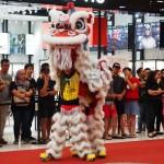 pertandingan, tarian singa, Plaza Merdeka, Borneo, Sarawak, Kuching, Malaysia, championship, competition, traditional, Chinese culture, lion dance, event, Tourism, Kota Sentosa,