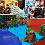 Borneo, Malaysia, championship, competition, traditional, lion dance, event, tourist attraction, travel, Kota Sentosa, 古晋砂拉越, 狮王争霸, 舞狮, 圣淘沙