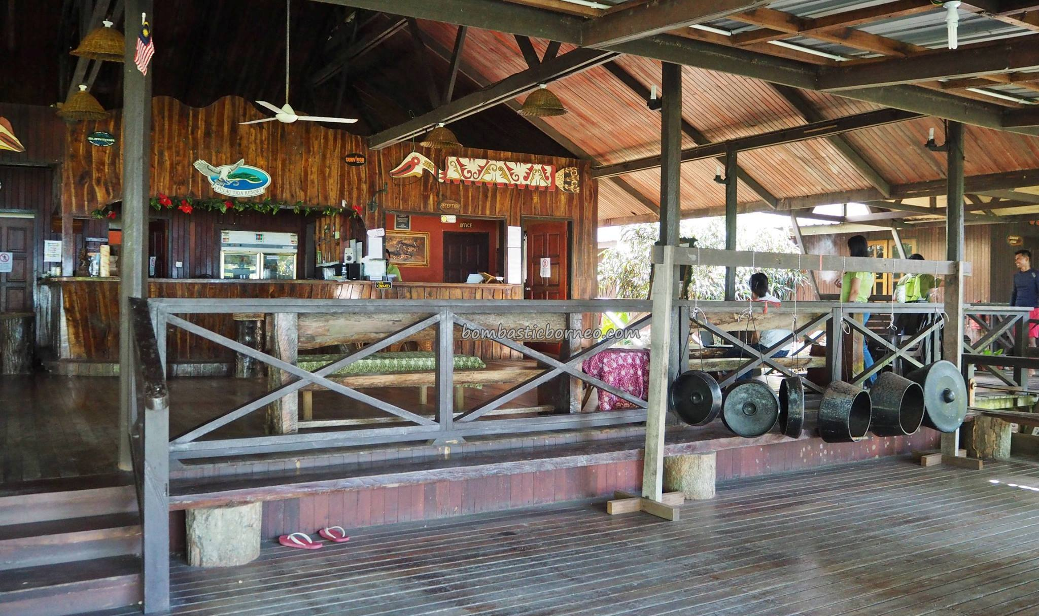 Pulau tiga the survivor island sabah mud volcano tourism bombastic borneo - Sipadan dive centre ...