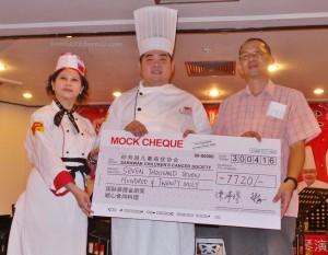 event, Kuching, Malaysia, Sarawak Golf Club, Taipei International Bodhi Golden Culinary Award, Taiwan Vegetarian Society, Tay Soon Kheng, 国际菩提金厨大赛, 慈善, 素食料理烹饪, 古晋, 砂拉越, 马来西亚,