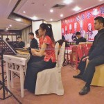 Hammered dulcimer, 敲洋琴, charity, vegetarian dinner, Malaysia, Sarawak Golf Club, Taipei International Bodhi Golden Culinary Award, music school, 国际菩提金厨大赛, 慈善, 素食料理烹饪, 古晋, 砂拉越, 马来西亚,