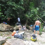 Pe'an Waterfall, adventure, nature, outdoors, exploration, jungle trekking, hiking, Borneo Heights, Malaysia, Kampung Sting, Sungai E'ten, Nyegol village, Tourism, tourist attraction, travel guide, 砂拉越婆罗洲