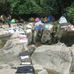 Air Terjun Pe'an, camping, outdoors, exploration, rainforest, backpackers, destination, Kuching, Malaysia, Padawan, Sungai, E'ten River, tourist attraction, travel guide, 砂拉越瀑布, 婆罗洲旅游景点
