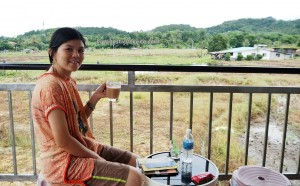 accommodation, terraced paddy fields, homestay, Borneo, Interior Division, Malaysia, dayak, native, orang asal, Tourism, tourist attraction, town, traditional, travel guide, 坦布南沙巴, 旅游景点