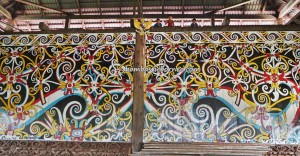 Balai Adat, indigenous, traditional, culture, destination, Borneo, Indonesia, Tanjung Palas Utara, Kenyah tribe, dayak motif, native, Tourism, travel guide, crossborder, 婆罗洲原著民, 旅游景点,