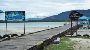 fishing village, Lamin Guntur Eco Lodge, outdoor, backpackers, destination, Borneo, Tanah Surga, island, white sandy beach, Tourism, tourist attraction, travel guide, vacation, transborder, 东加里曼丹, 旅游景点
