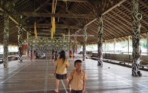 Lamin Adat Adjang Lidem, Desa Setulang, village, authentic, indigenous, culture, destination, Kalimantan Utara, Malinau Selatan Hilir, dayak motif, Tourism, tourist attraction, travel guide, transborder, 北加里曼丹, 婆罗洲 旅游景点