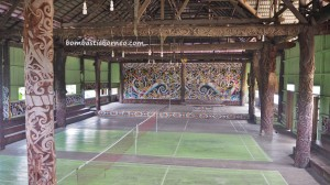 Balai Adat Desa Pimping, authentic, indigenous, village, culture, destination, North Kalimantan, Bulungan, Tanjung Palas Utara, dayak motif, tribal, Obyek wisata, Tourism, travel guide, transborder, 婆罗洲旅游景点,