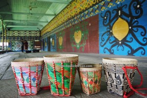 Rumah Adat, authentic, indigenous, culture, Borneo, Indonesia, North Kalimantan, Desa Pulau Sapi, Malinau, Mentarang, native, tribe, Dayak Lundayeh, Tourism, travel guide, Transborneo