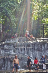 Air Terjun Semolon, Cascade, hotspring, adventure, nature, destination, Borneo, Indonesia, North Kalimantan, Malinau, Mentarang, hidden paradise, Obyek wisata, Tourism, travel guide, crossborder,