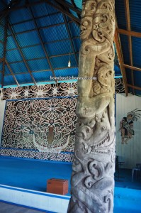Balat Adat Udau Jalung, indigenous, village, backpackers, Kalimantan Utara, Kota Malinau, Desa Tanjung Keranjang, native, tribal, dayak motif, Tourism, tourist attraction, travel guide, crossborder, 北加里曼丹, 婆罗洲原著民