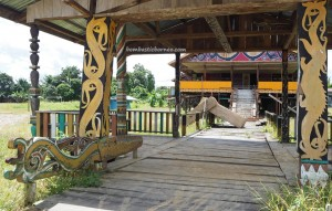 Belusu tribe, Rumah adat Intok intimung, authentic, indigenous, traditional, village, destination, Indonesia, Malinau Barat, Desa Sesua, tribal, tourist attraction, travel guide, transborder, 北加里曼丹, 婆罗洲原著民